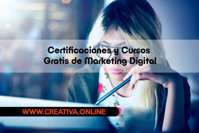 10 Mejores Certificaciones y Cursos Gratis de Marketing Digital para este 2018